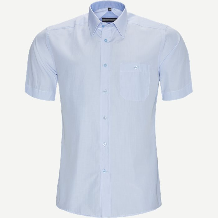 Jordi Kortærmet Skjorte - Kortærmede skjorter - Regular - Blå